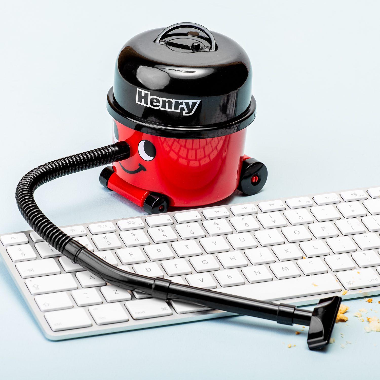 Mini Bureaustofzuiger - Henry