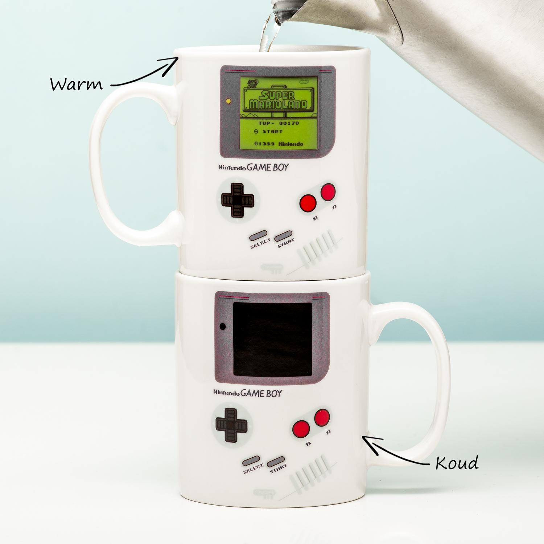 Nintendo Game Boy Warmtegevoelige Mok