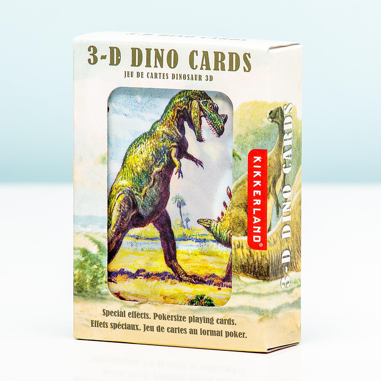 3D Speelkaarten - Dinosaurussen