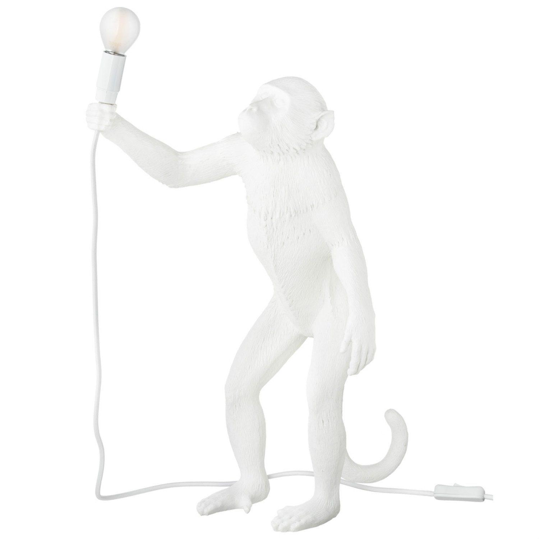 Monkey Lamp - Staand / Wit / Voor Binnen En Buiten