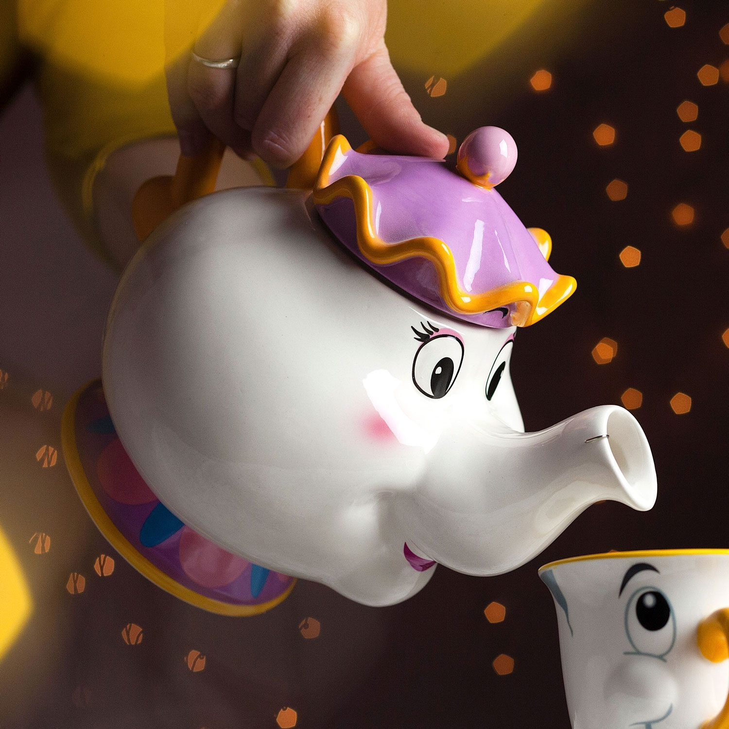 Disney Mrs. Potts Theepot Uit Beauty And The Beast
