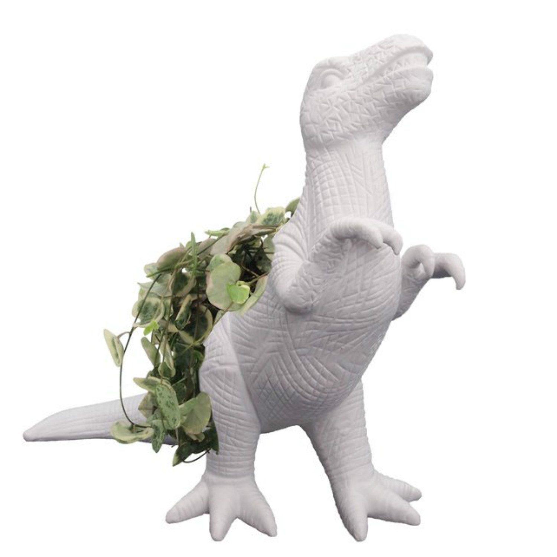 Bitten Dinosaurus Bloempot - T-Rex