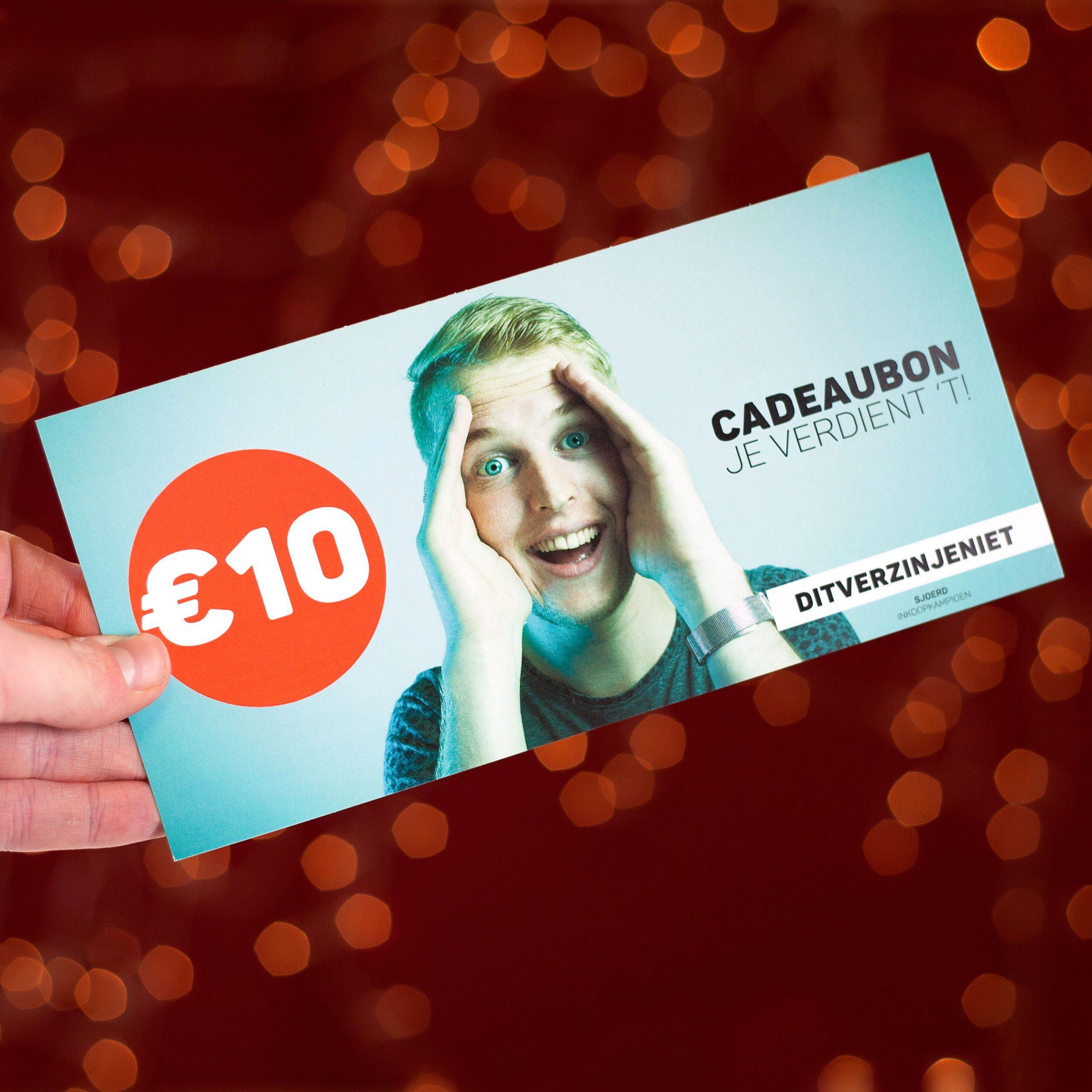 Cadeaubon - € 10,-