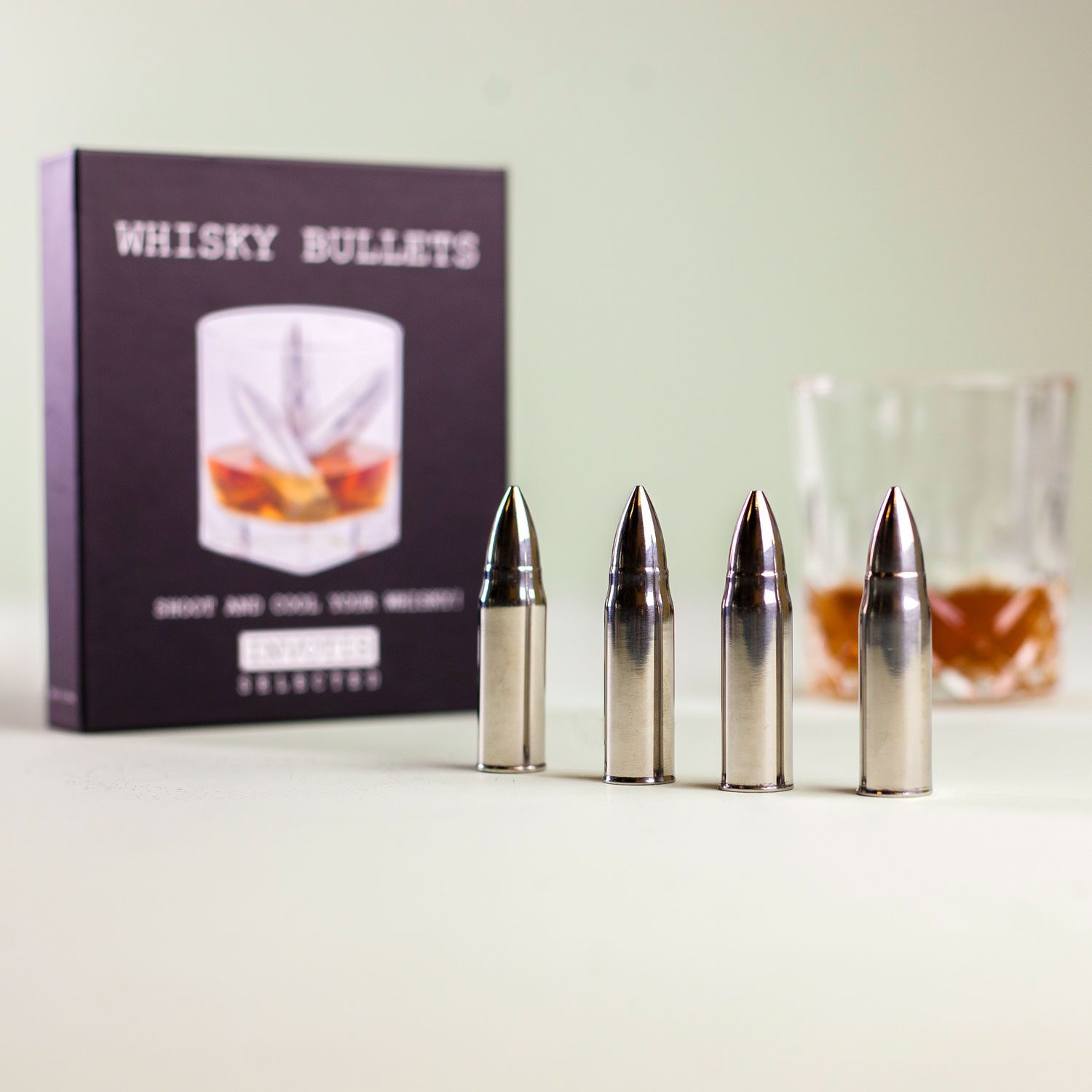 Whisky Bullets Ijskogels (Set Van 4)