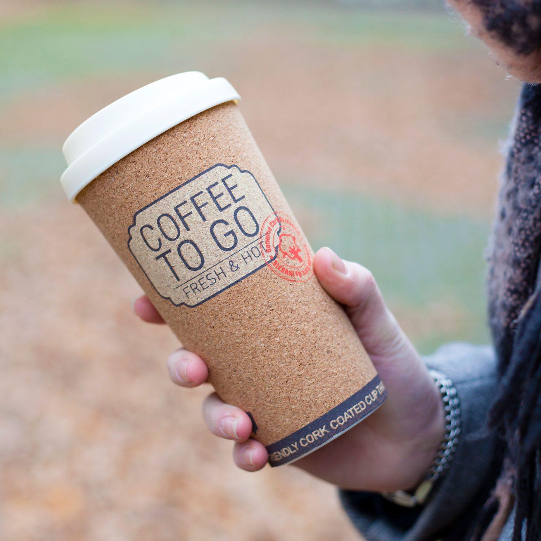 Kurken Koffiebeker