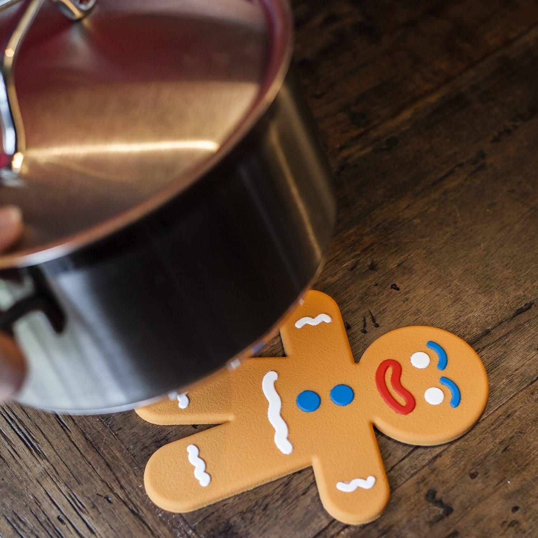 Gingerbread pop magnetische onderzetter
