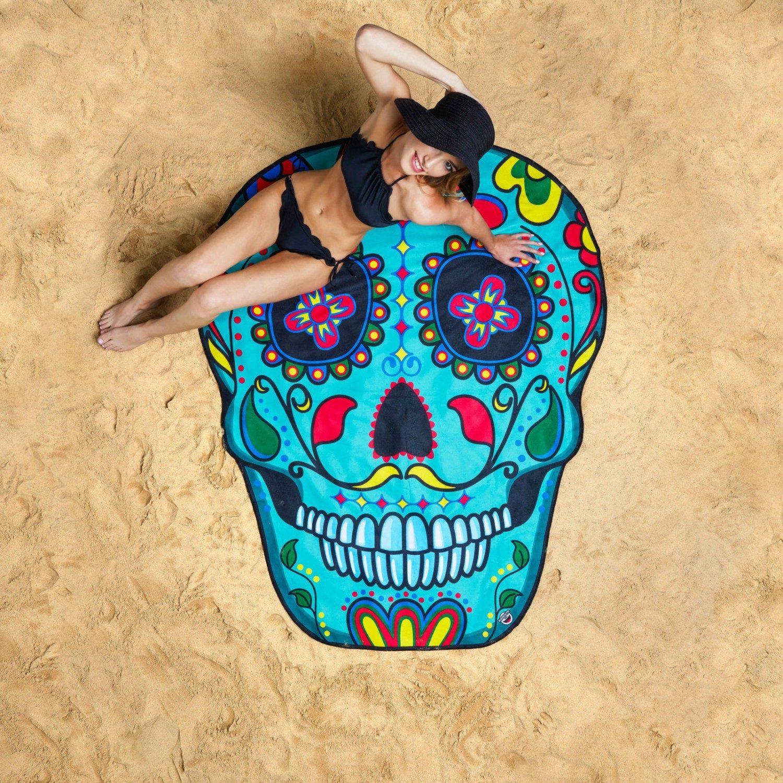 Gigantisch Strandlaken - Sugar Skull - BigMouth