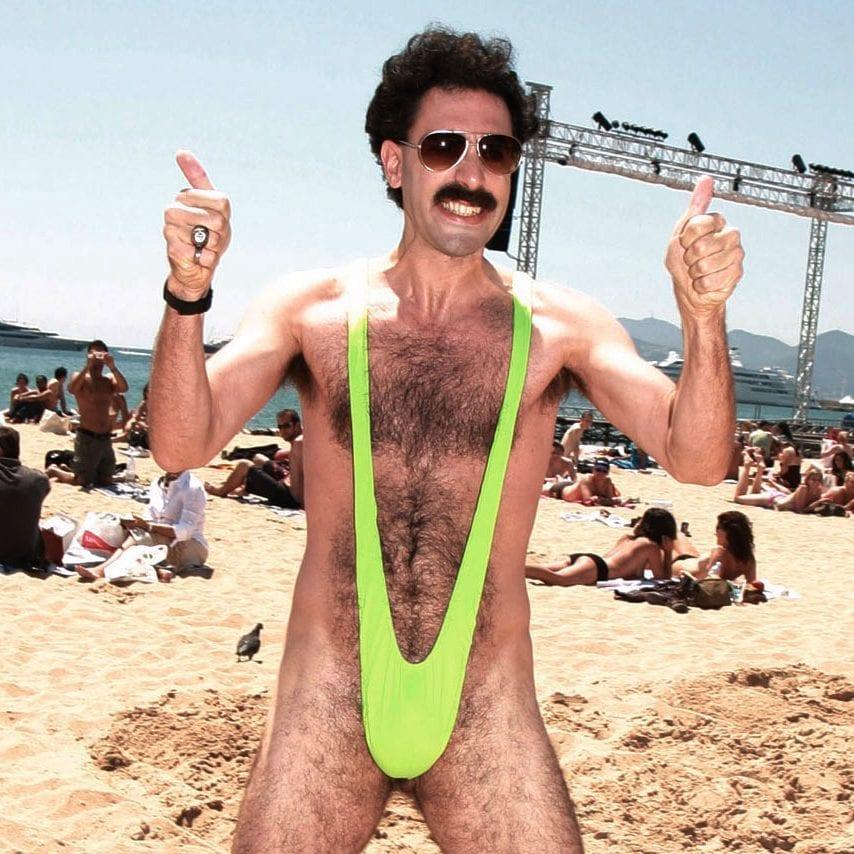 Borat Mankini - Groen - Nutcrackers