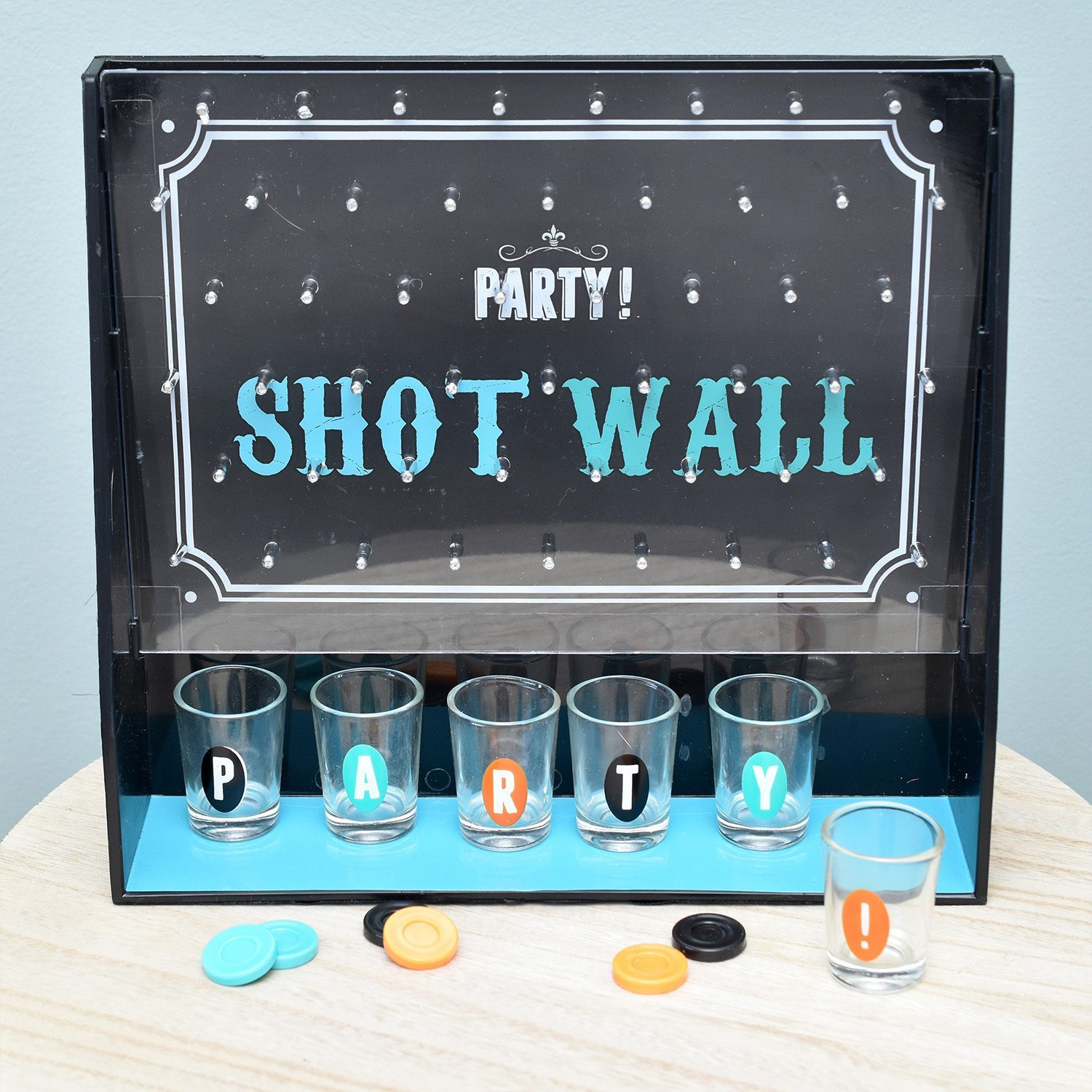 Party Shot Wall Drankspel - Fizz