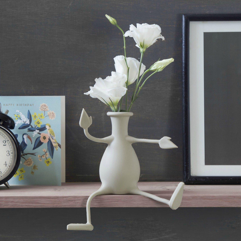 Florino Flexibele Vaas - Grijs - Peleg Design