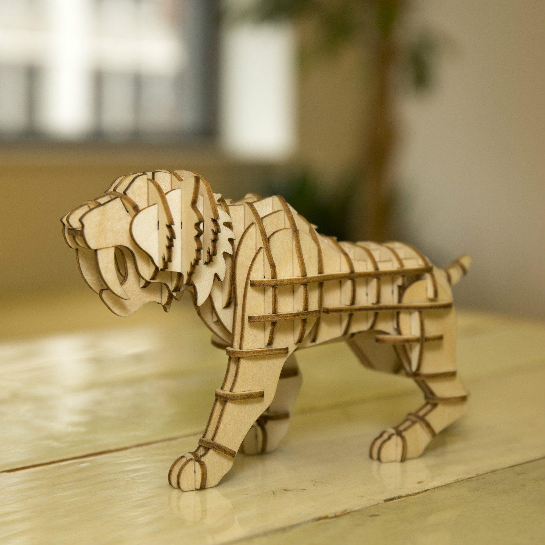 Kikkerland 3D puzzel van hout