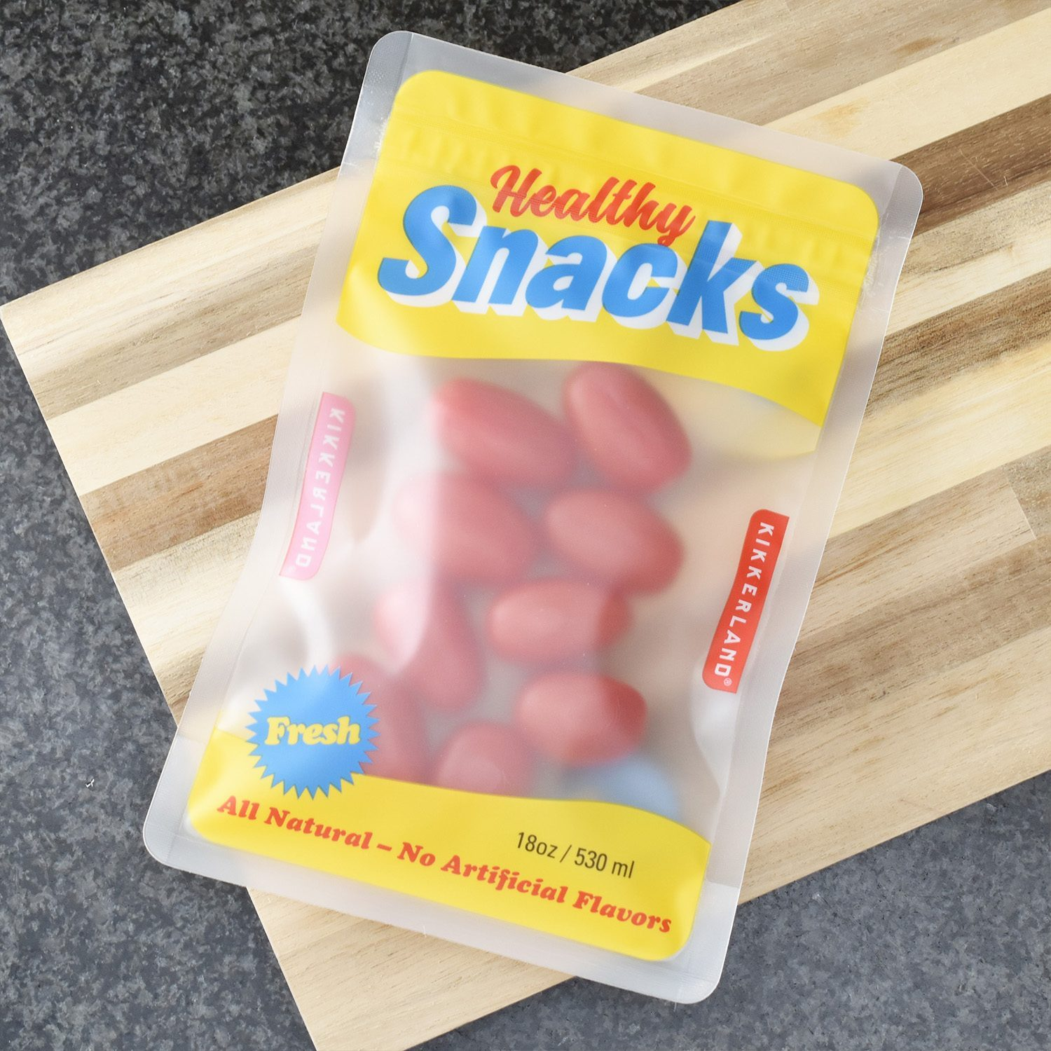 Kikkerland Retro Snack Zip Bags - Medium