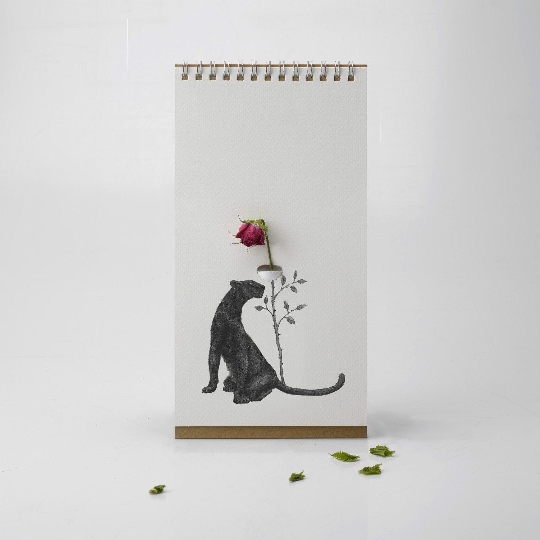 Flip Vase - Wilde Dieren - Luf Design