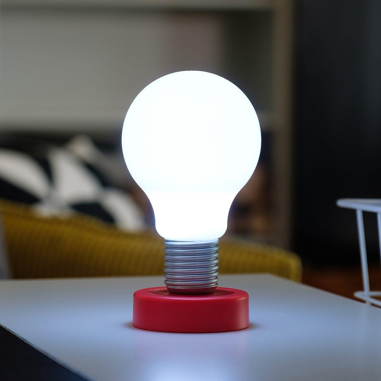 LOOOQS Push Lamp - Rood