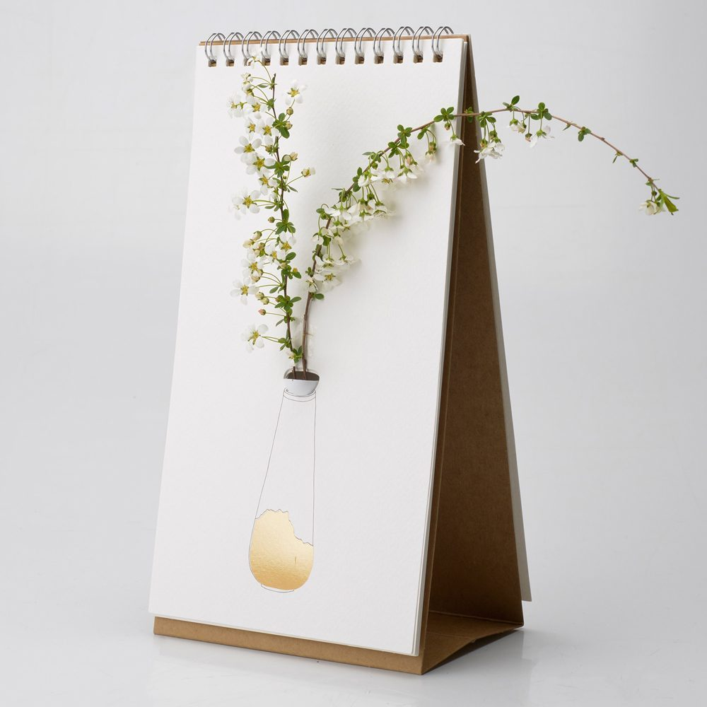 Flip Vase - Goud - Luf Design