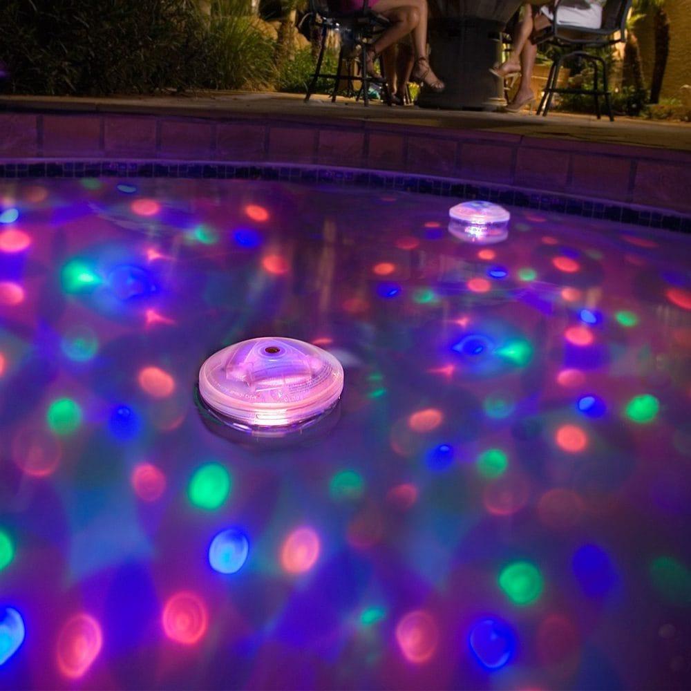 Onderwater lichtshow
