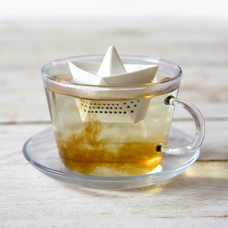Papieren Bootje Tea Infuser