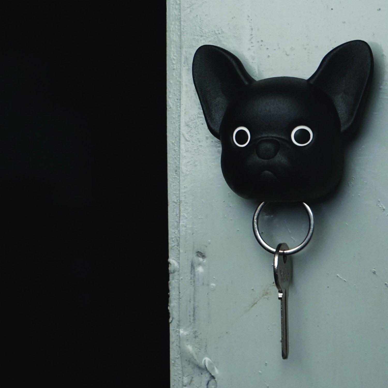 Hond Sleutelhouder - Zwart - Qualy