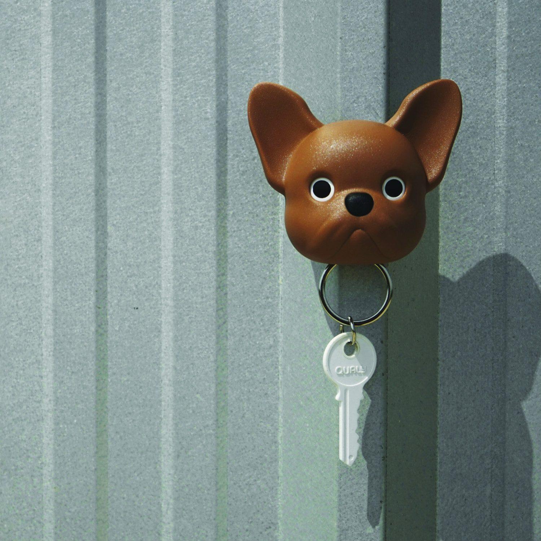 Hond Sleutelhouder - Bruin - Qualy