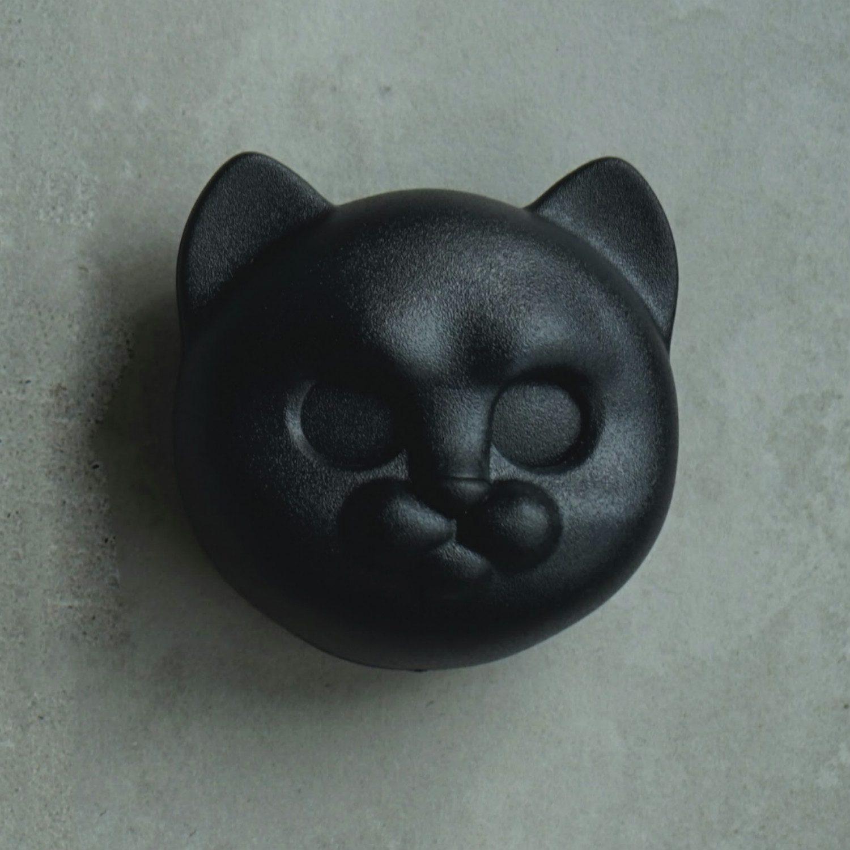 Kat Sleutelhouder - Zwart - Qualy