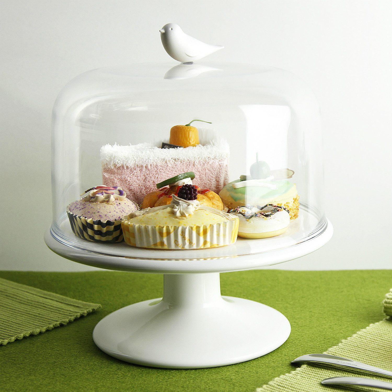 Sweet Tweet Afsluitbare Schaal - Wit - Qualy