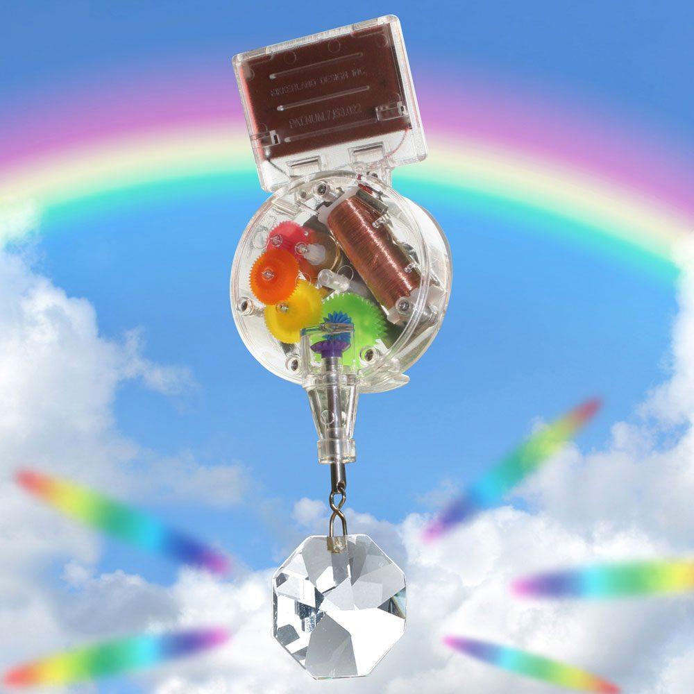 Rainbow Maker Op Zonne-Energie - Enkel - Kikkerland