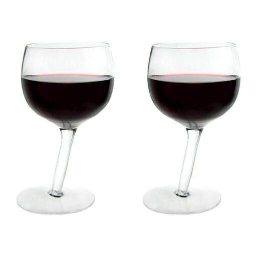Tipsy wijnglazen