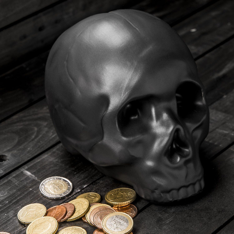 Skull Spaarpot - Kikkerland