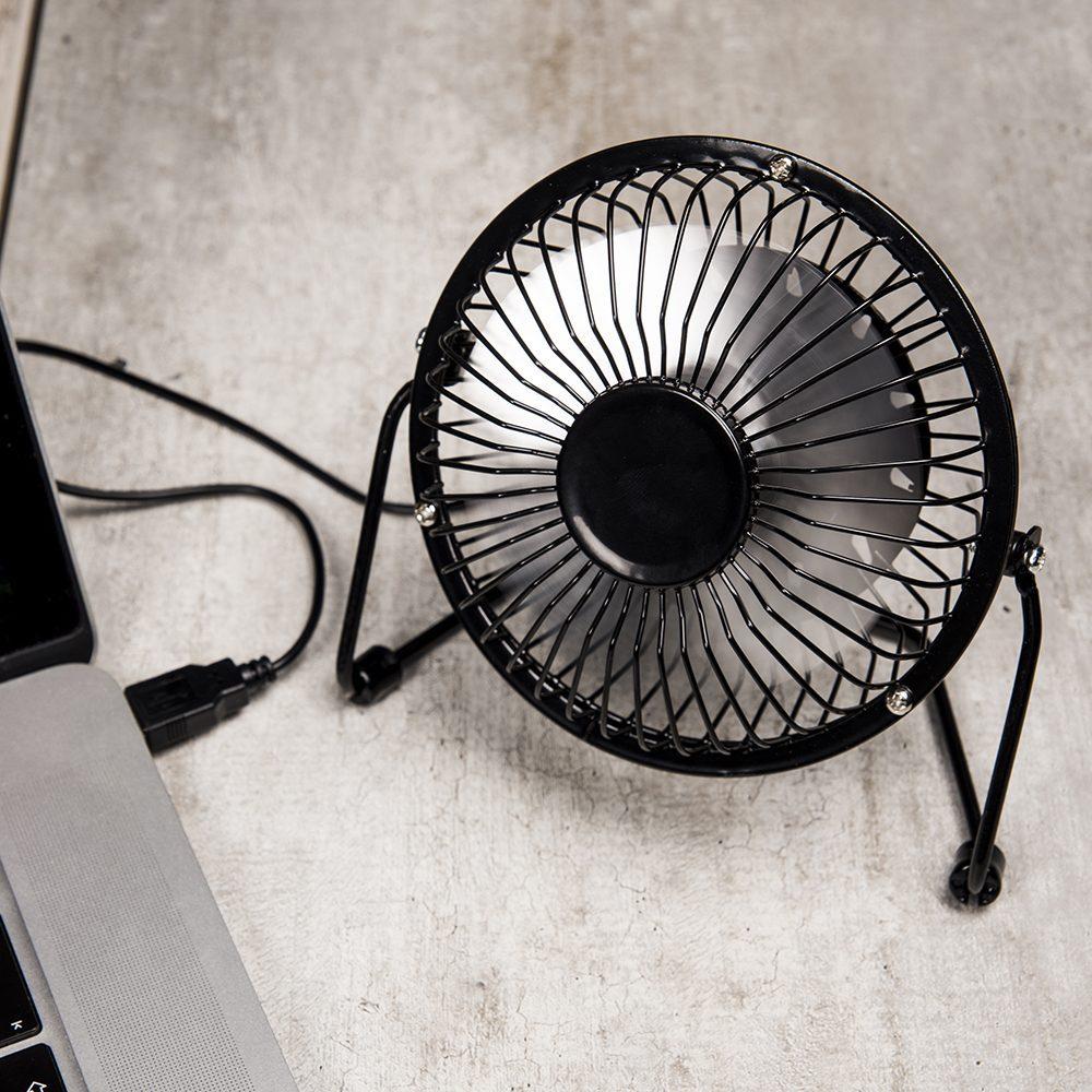 Usb Ventilator - Zwart