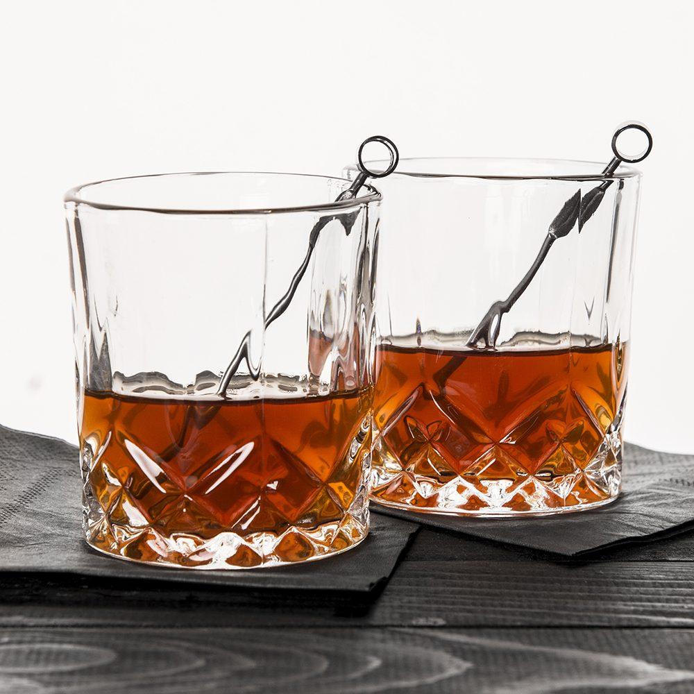 Whiskey Glazen (Set Van 2)