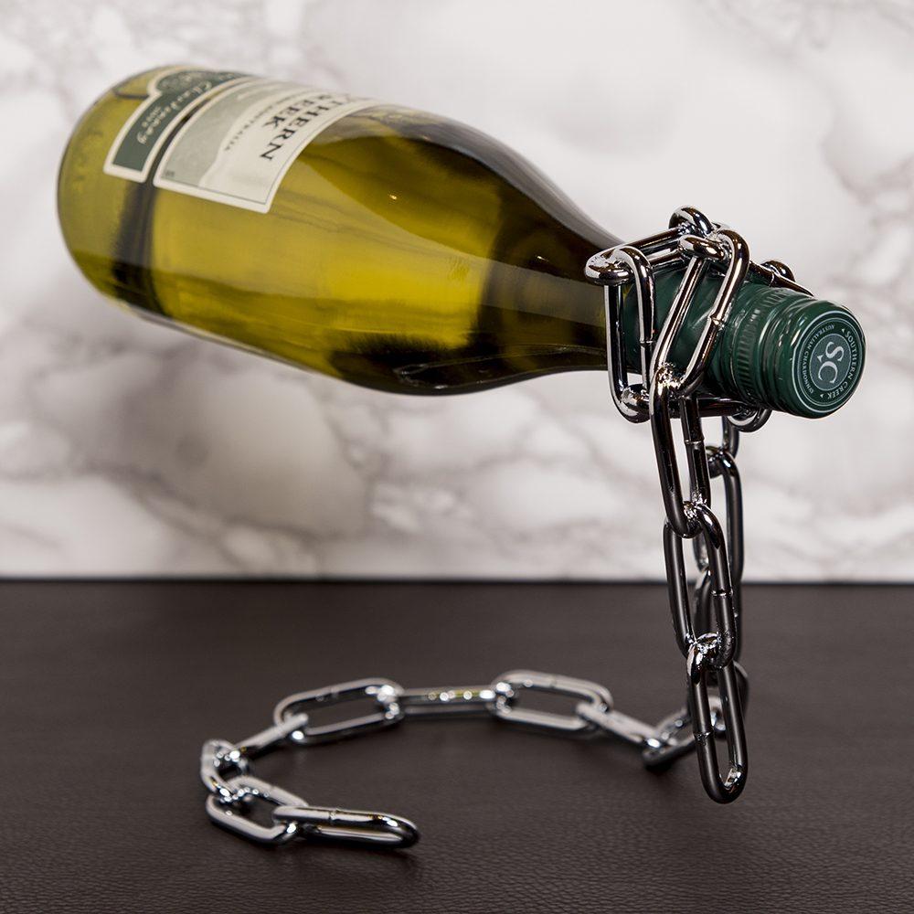 Wijnfleshouder - Ketting