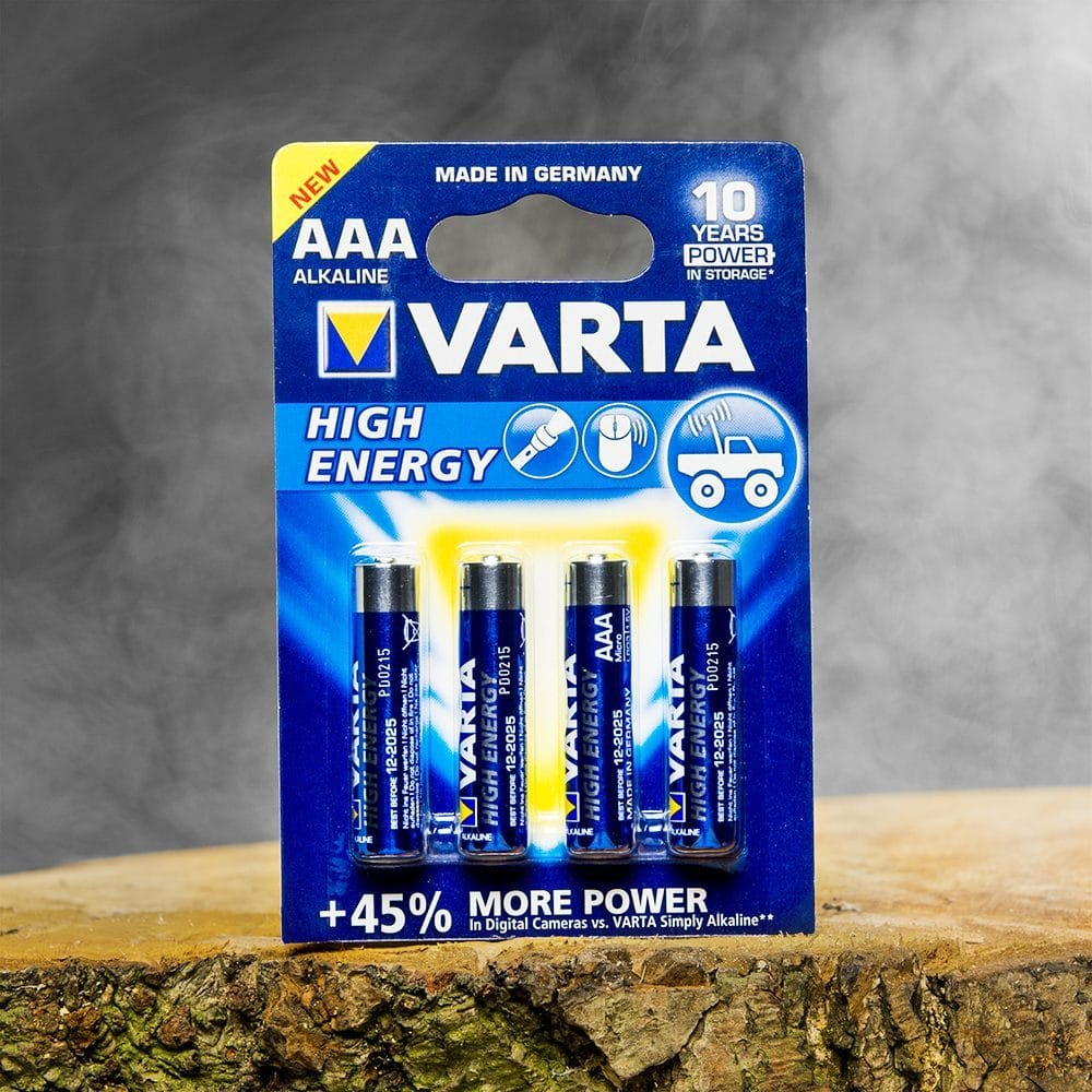 Batterijen - High Energy Aaa (4 Stuks) - Varta