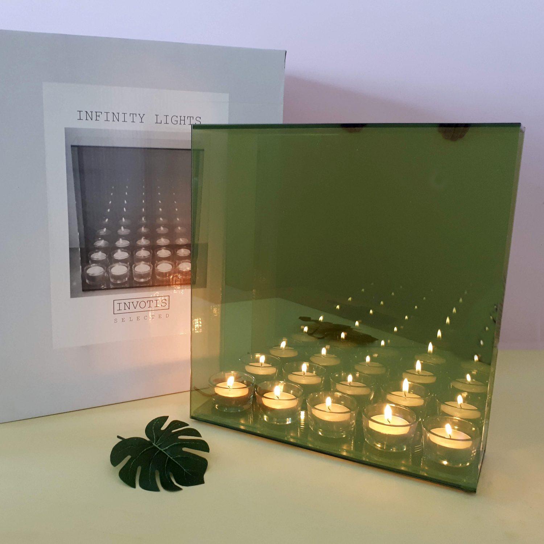 Infinity Waxinelichthouder - 5 Kaarsjes