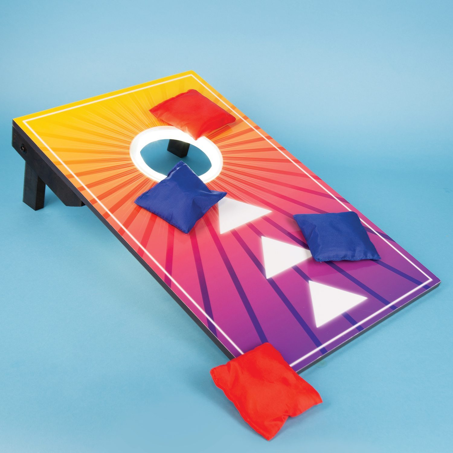 Light Up Bean Bag Toss Spel