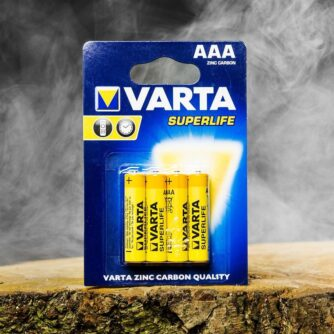 Varta Superlife AAA-battrijen in blister verpakking