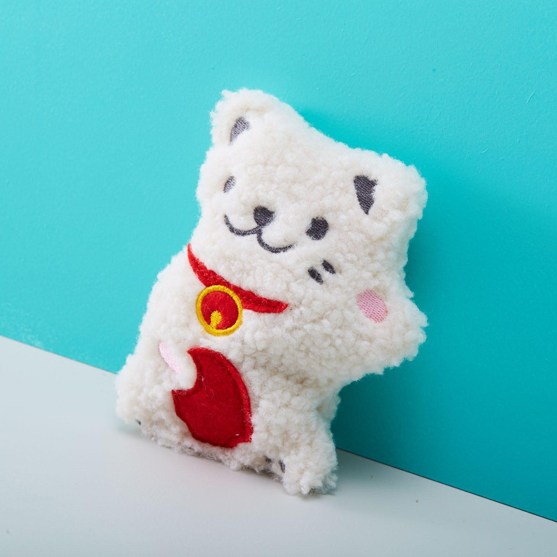 Pocket Pal Pittenzak - Lucky Cat - Bitten