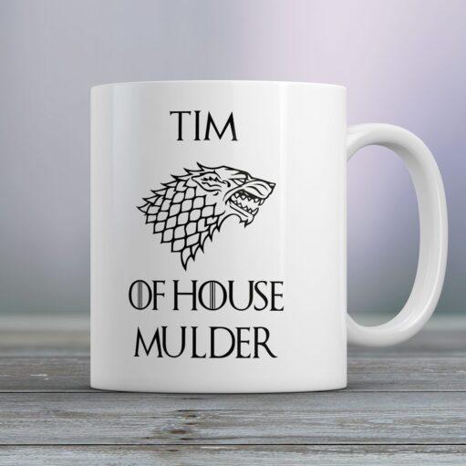 Gepersonaliseerde mok Game of Thrones of House