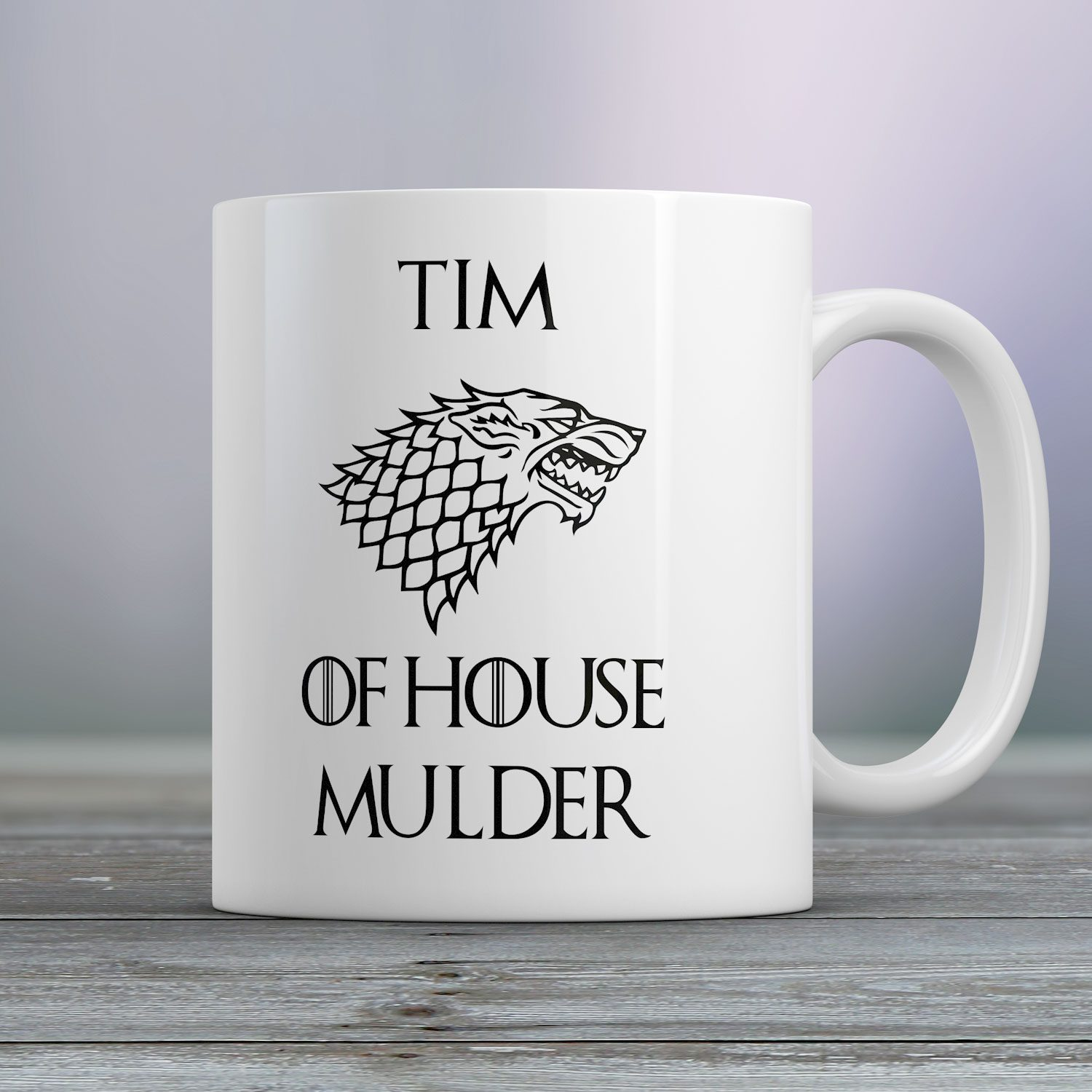Gepersonaliseerde Mok Game Of Thrones House Of - Nutcrackers