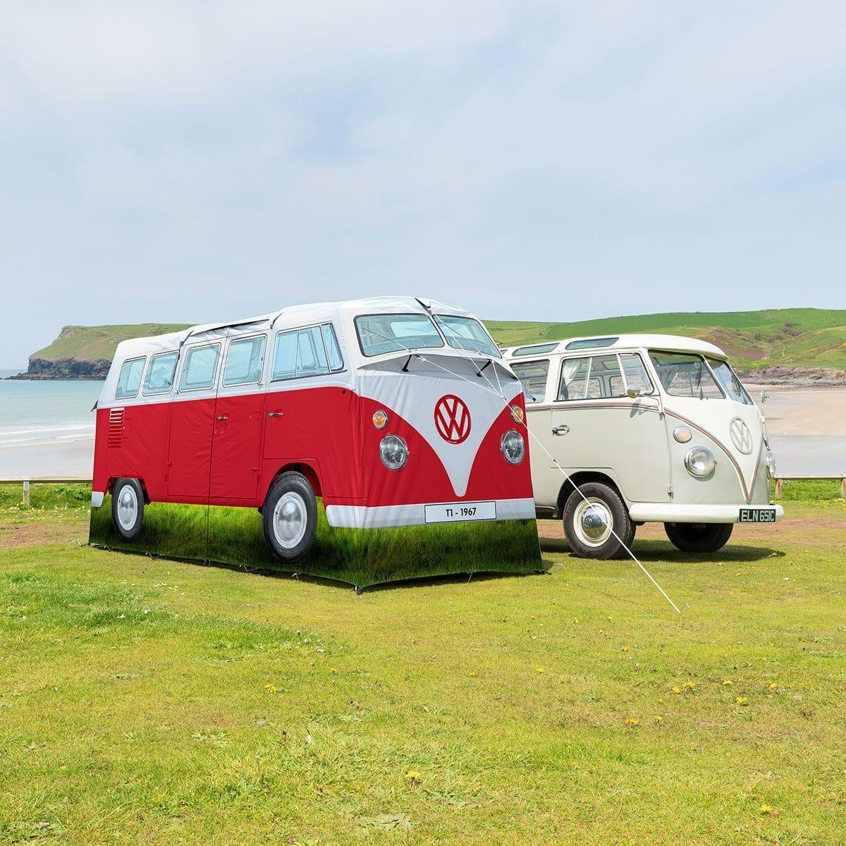 VW Busje Tent - Rood
