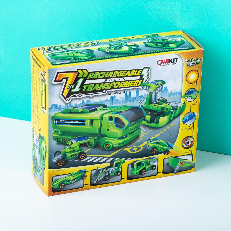 7-in-1 Transformers Auto Op Zonne-energie