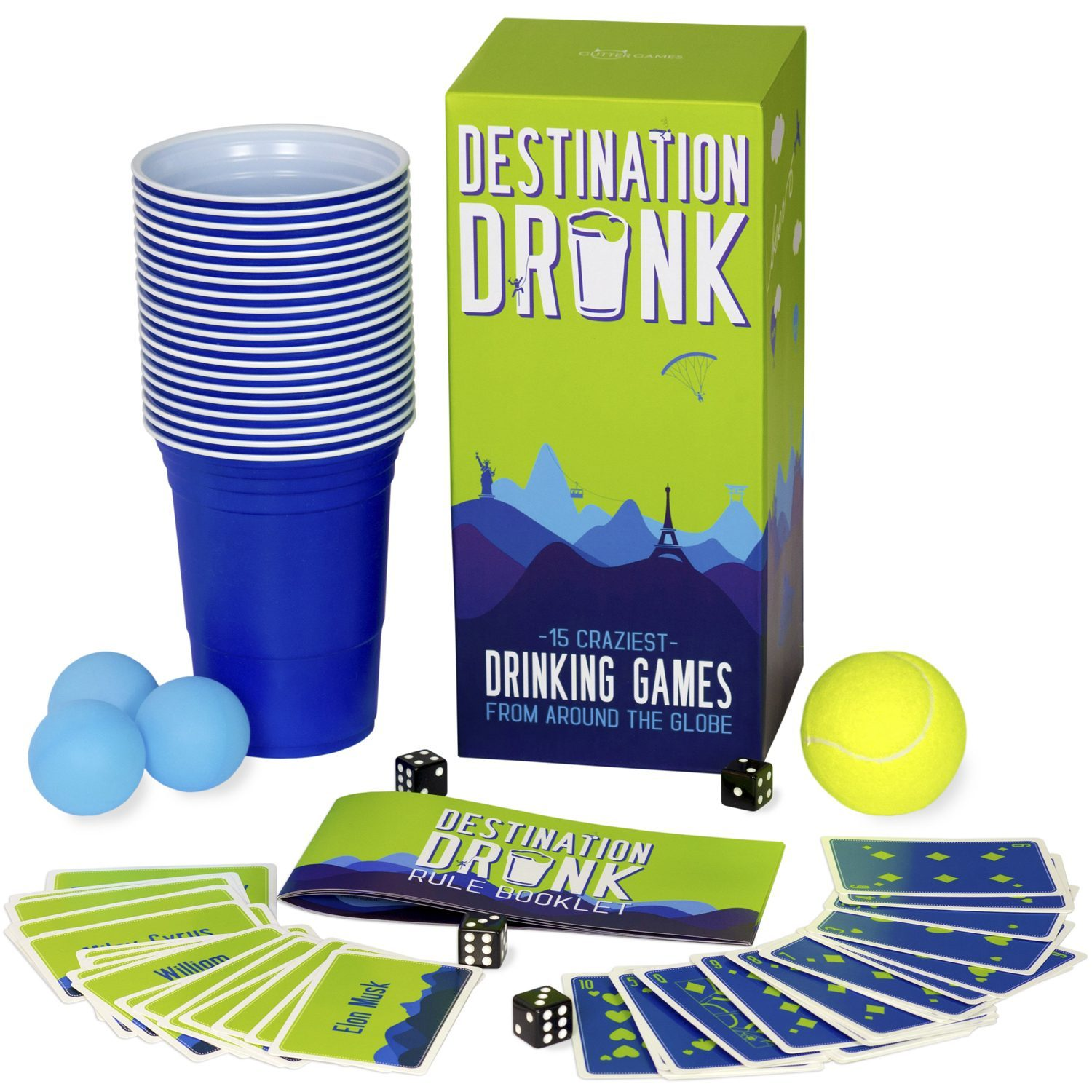 Gutter Games Destination Drunk drankspelletjes