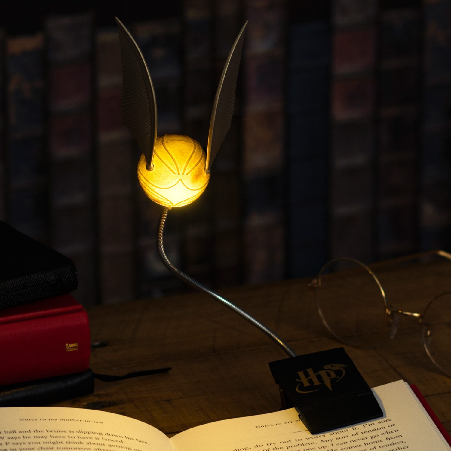 Harry Potter Golden Snitch leeslampje