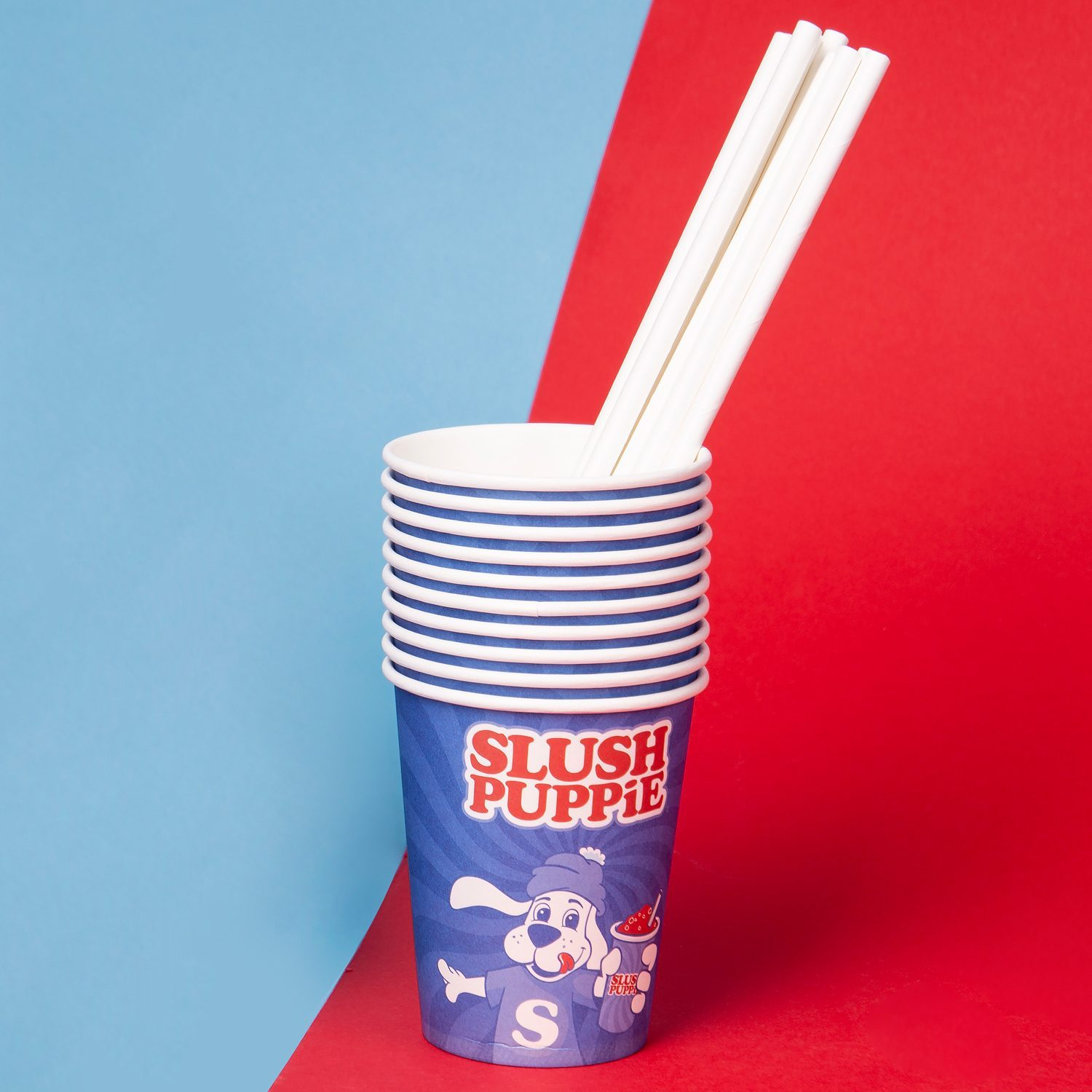 Slush Puppie Bekers en rietjes (set van 20)
