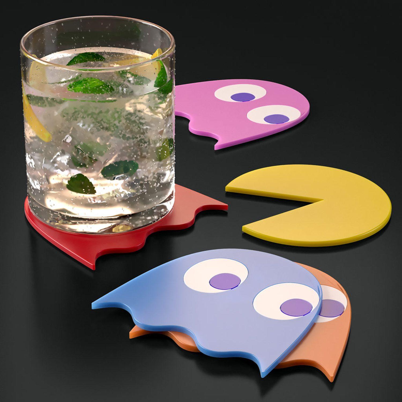 Pac-Man Onderzetters (Set Van 5)
