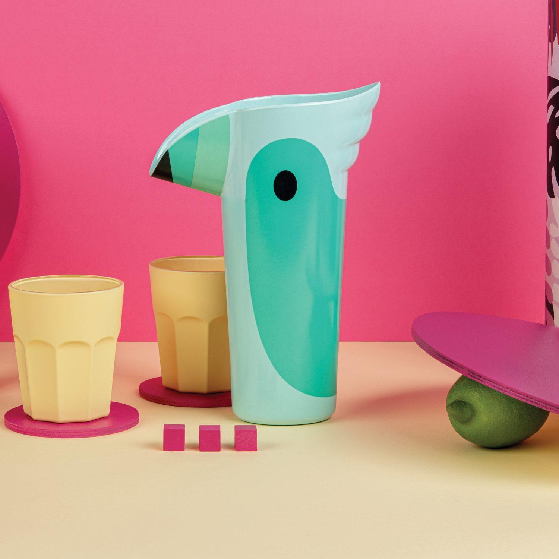 Polly Drinkkan - Turquoise - Ototo