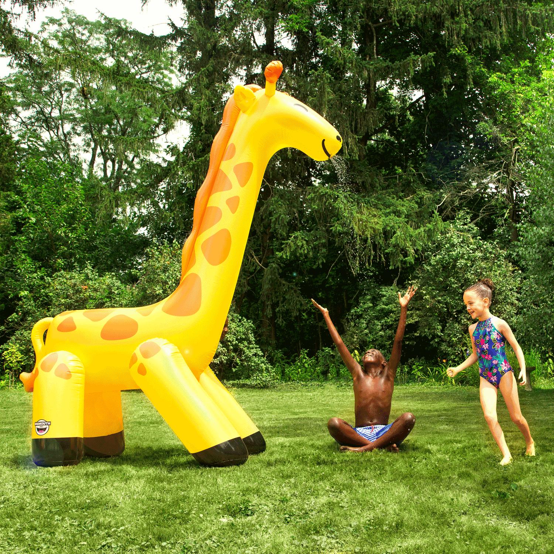 Gigantische Giraffe Sproeier