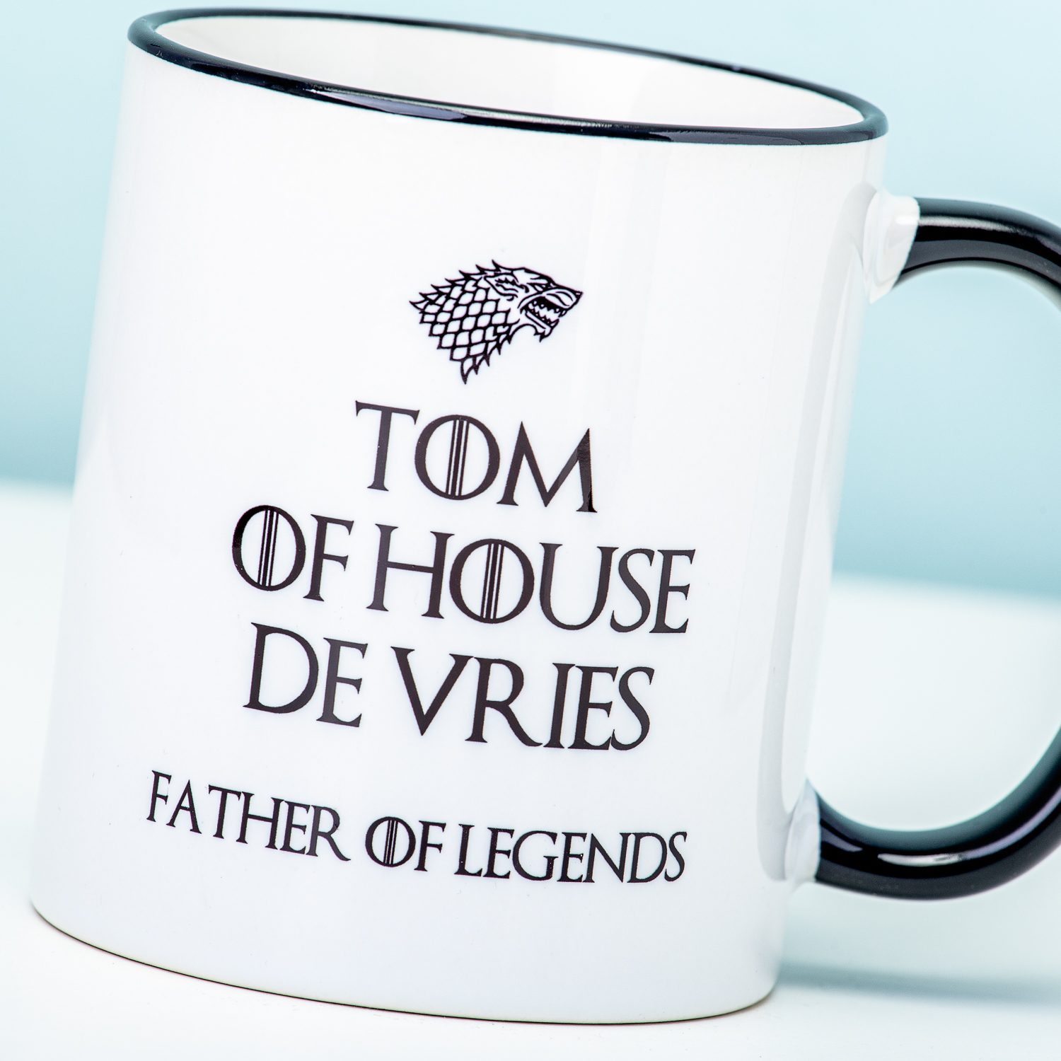 Gepersonaliseerde Game Of Thrones Father Of Legends Mok