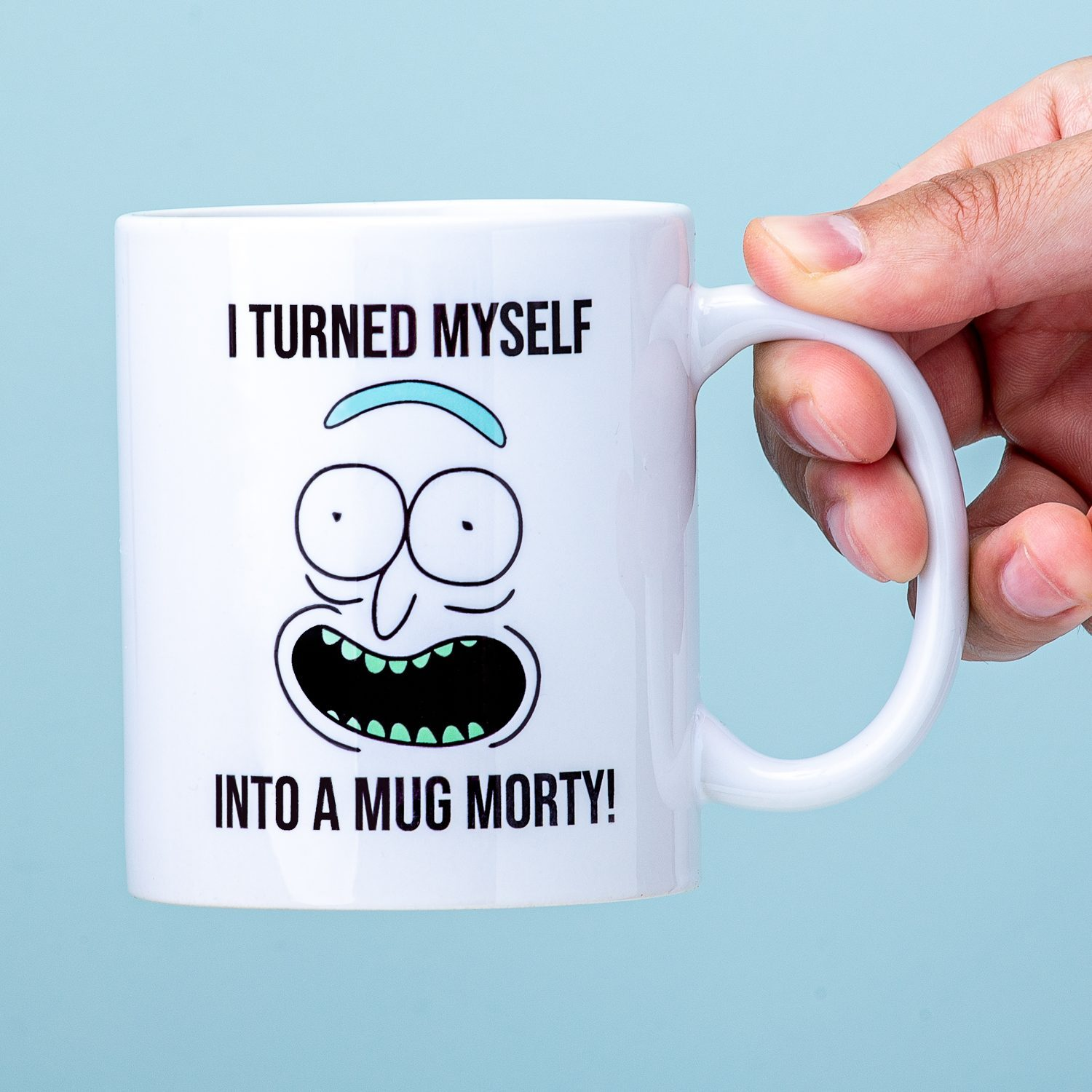 Rick And Morty I Turned Myself Into A Mug Mok - Nutcrackers