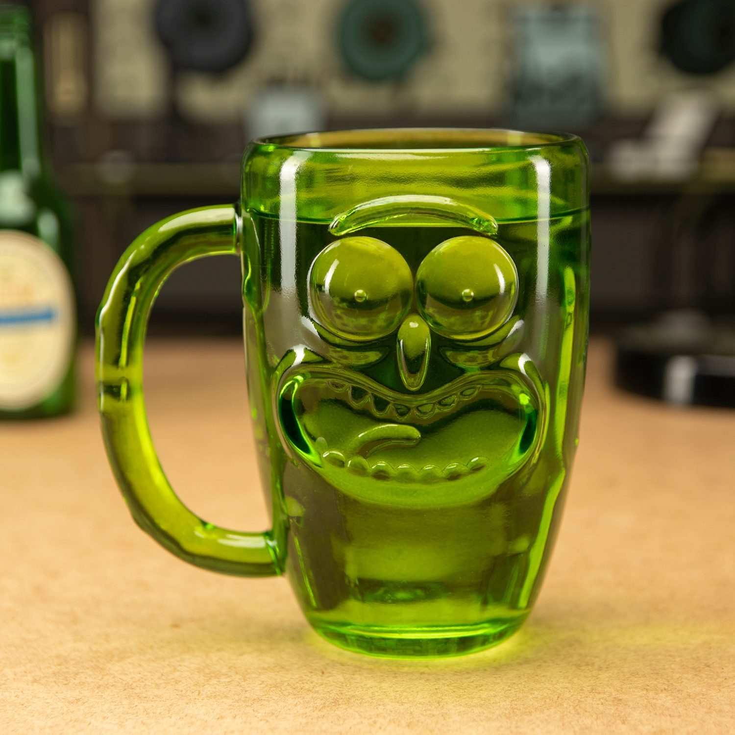 Rick and Morty Pickle Rick glas