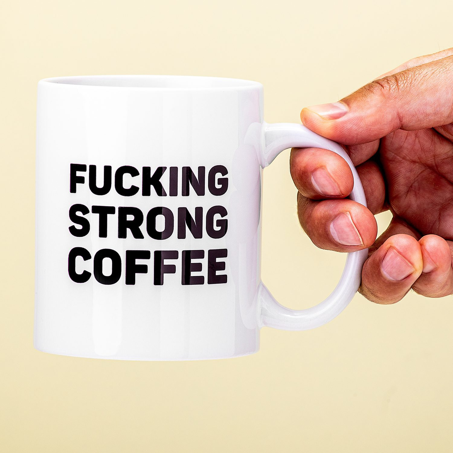 Mok Fucking Strong Coffee - Nutcrackers